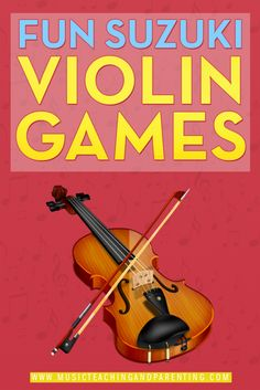 Great ideas for Suzuki Violin Practice Games - ideas you can use for review, for reluctant learners, or in the summer when all Suzuki violin students feel a drop in enthusiasm to stay home and practice. Fun tips you can use for home practice or get creative with Suzuki violin group classes.
