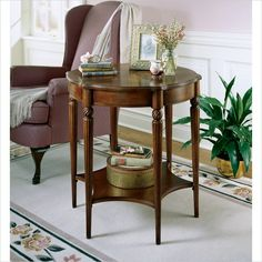 Butler Specialty Plantation Cherry Wood Accent Table - 0557024
