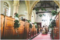 Glentham church,St Peter & St Pauls, gorgeous church decor and dressing in a Woodland themed wedding in Lincolnshire by Lucabella.co.uk