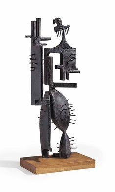 Julio González ~ Meneer Cactus ~ 1939 ~ Smeedijzer ~ 65,5 x 27,5 x 15,5 cm. ~ Privécollectie