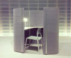 'workbays' for vitra at orgatec by ronan and erwan bouroullec.