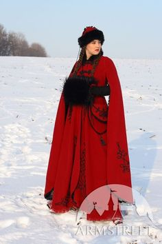 Red Cloak Muff