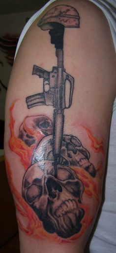 military Tattoos Galleries | ... Tattoo, Military Tattoo, U.S Miltary Tattoo, Tattoo Designs, Military