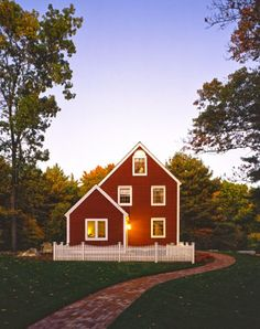 red barn house
