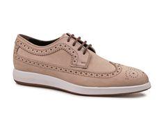Hogan mens beige Suede leather lace-up oxfords shoes - Italian Boutique €192