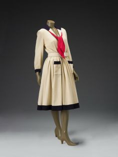 Dress  Norman Norell, 1947  The Indianapolis Museum of Art