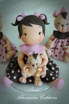 girl fondant sculptures tutorial - Google Search