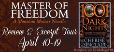 Sarit Yahalomi: Cherise Sinclair's MASTER OF FREEDOM - Review/Exce...