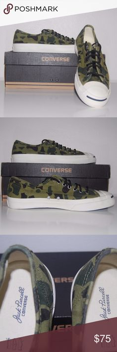 e1478e4c7db2 Converse Jack Purcell Camouflage New with Box New Original Authetic Converse!  Converse Jack Purcell Camouflage New with Box Mens 9 Womens Converse Shoes  ...