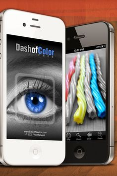 Dash of Color is an iOS (iPhone, iPad, iPod) app that lets you add a dash of color to black and white photos.  FREE