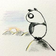 【一日一大熊猫】 2015.2.28 エクストリーム出社は 遅刻しないで出社までに 登山や海水浴や観光で楽しんで 出社を極める事だね。 #pandaJP http://osaru-panda.jimdo.com