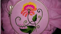 Hand embroidery easy and beautiful basic embroidery stitches - YouTube