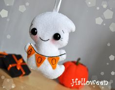 This Halloween ornaments can be used as a Halloween party decor, Home decor or cute Halloween gifts.  This ornament is made to order. Please give