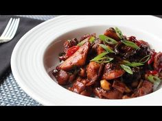 Food Wishes Video Recipes: Spicy Caramel Chicken and a History Lesson