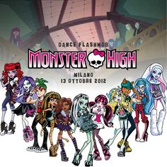 Dance Flash Mob a Milano con i protagonisti di Monster High