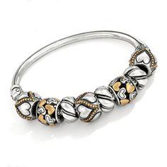 Brighton gold & silver beads