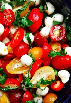 Tomato, Basil, and Mozzarella Salad | 17 Easy Vegetable Sides That Are Actually Delicious