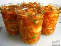 Салат с кабачками Тещин язык Kefir, Real Food Recipes, Vegan Recipes, Cooking Recipes, Korean Food, Korean Dishes, Kimchi Fried Rice, Zucchini Aubergine, Home Canning