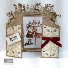 Fancy Christmas Edge'ables - Crafter's Companion Portfolio