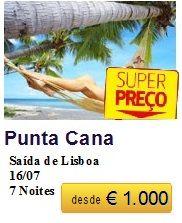 Punta Cana - Ultimos Lugares €1000
