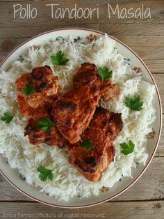 Chicken tandoori masala - Ricetta tradizionale pollo tandoori masala