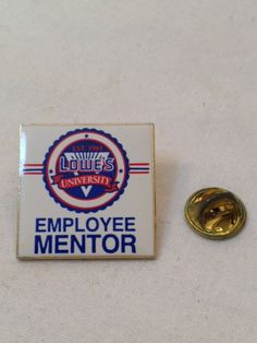 Lowe's Employee Mentor Pin by TheCharmingAttic on Etsy, $1.50