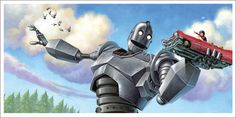 New The Iron Giant Posters by Jason Edmiston, Jay Shaw, and Jay Ryan from Mondo (Onsale Info) Movie Prints, Poster Prints, Jason Edmiston, Diesel, Steampunk, The Iron Giant, Concept Art Gallery, Cultura Pop, Art Store