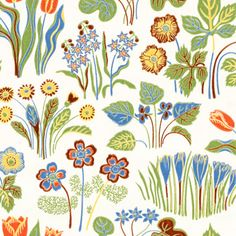 Josef Frank wallpaper from the 1940's