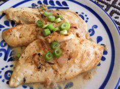 Chicken with Dijon Sauce_Nourish Paleo Foods.com