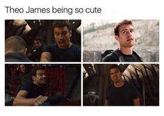 Theo James (Allegiant)❤️❤️