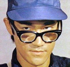 """Bruce Lee playing a telephone repair man from his movie """"Fist of Fury."""""""