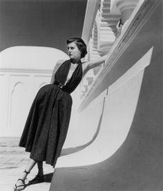 Louise Dahl-Wolfe Halter dress by Brigance, 1954, Palm Beach