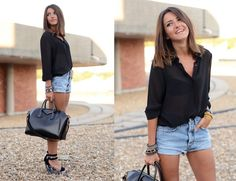 look short vaqueros rotos - Buscar con Google