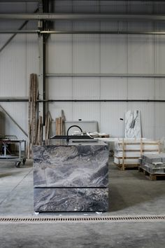 Concept kitchen by Dieter Vander Velpen Architects + Il Granito