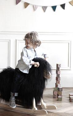 Danish Crafts Rocking Sheep, via Smallable