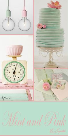 Lu's Inspiration ღ pink and mint