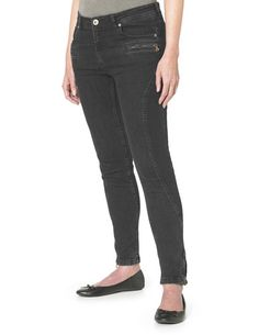 c50b361f48 Joe Browns Women s Essential Biker Jean Black Pantalones De Ciclista