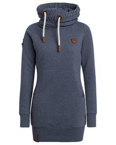 naketano Sweatshirt Baba Jaga II - blau  Jetzt auf kleidoo.de bestellen!  #kleidoo #fashion #trend #online #naketano #hoodie #sweatshirt #grey