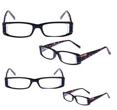 694a5b2e5e 4 Pack of NEW Foster Grant Womans Gracie Reading Glasses Spring Hinge  Version  FosterGrant 14.49