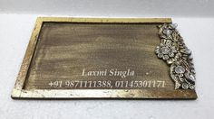 Fibre Tray with Brooch Rs.480/- size 11 x 16 inches