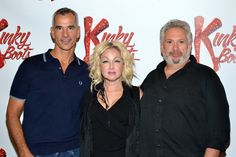 "Cindy Lauper is working with Harvey Fierstein (""La Cage aux Folles,"" ""Torch Song Trilogy"") on the new musical ""Kinky Boots,"" based on the 2005 movie about a failing shoe factory that turns itself around with fetish footwear."