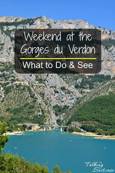 The Gorges du Verdon or Verdon Gorge is located in the Alpes-de-Haute-Provence region of France. The Gorges ends at the Lac de Sainte-Croix. It's a great place to spend the weekend. See our recommendations on what to see and do.