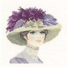 Hannah Miniature Cross Stitch Kit from Heritage Crafts from £14.55