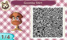Camiseta de Goomba