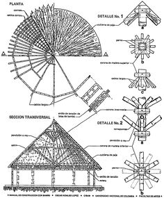 Appropriate building materials: Examples of building systems: Bamboo houses