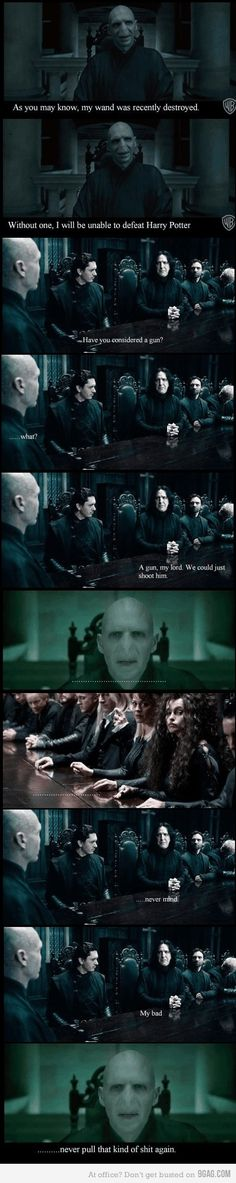 Oh Snape...