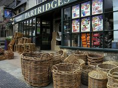 Partridges store front in Burford, England -  Why not stay in a beautiful Cotswolds hotel? http://www.cotswoldhotelbreaks.com