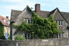 Town of Lacock. one of the best preserved Cotswold. Used in many films including Harry Potter