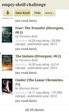Book 39: Cinder
