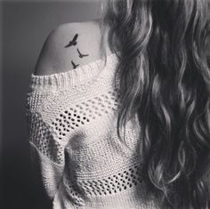 To me, a bird tattoo means that one day you will have a chance to have your own freedom in life.. and fly to your all your wildest hope and dreams.